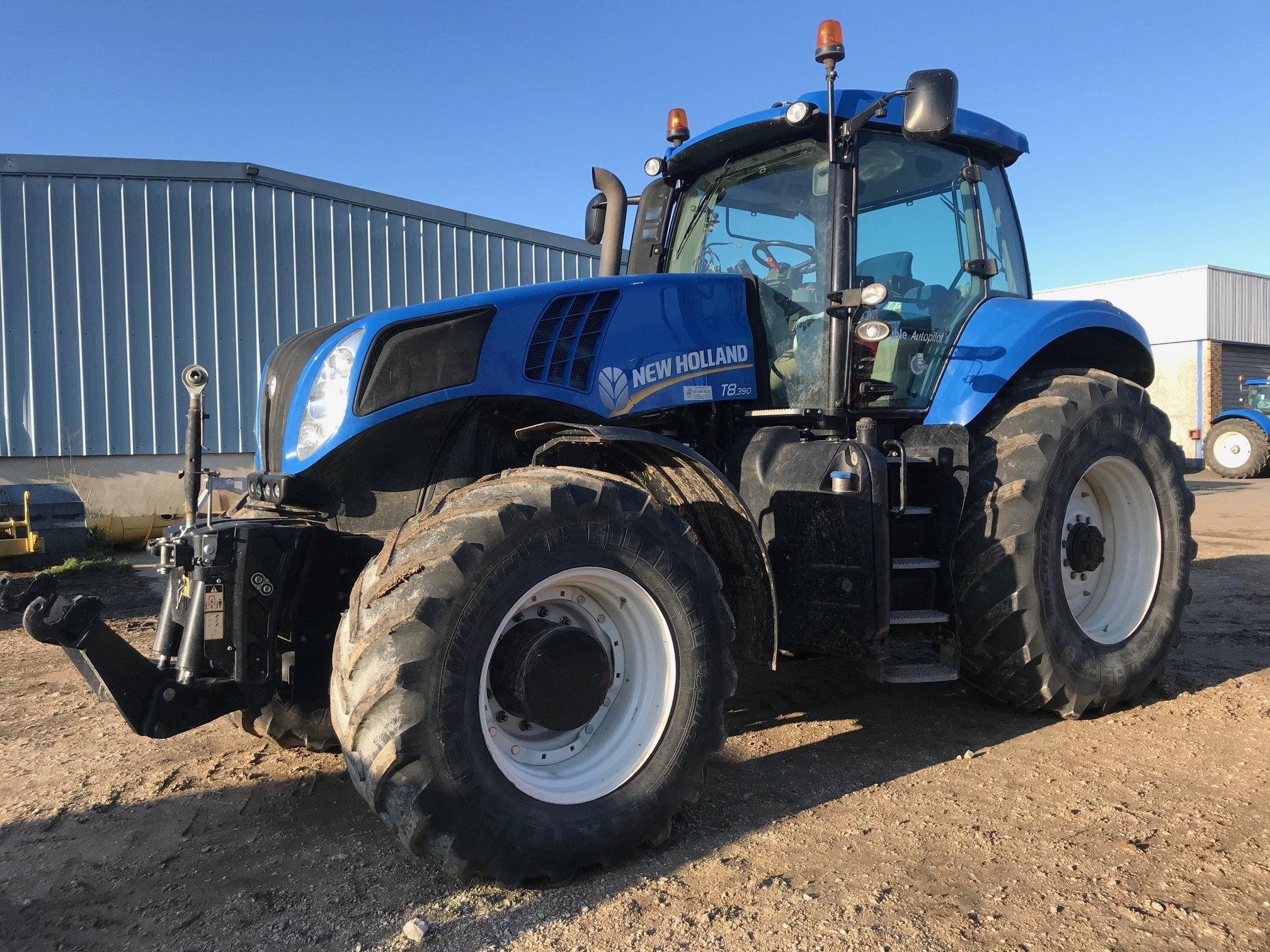 Tracteur agricole New Holland T8.390 - 1
