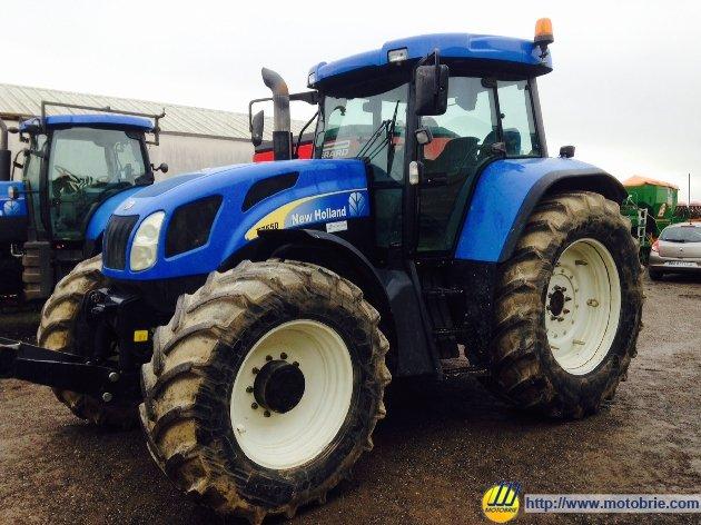 tracteur agricole new holland t7550 vendre sur motobrie. Black Bedroom Furniture Sets. Home Design Ideas